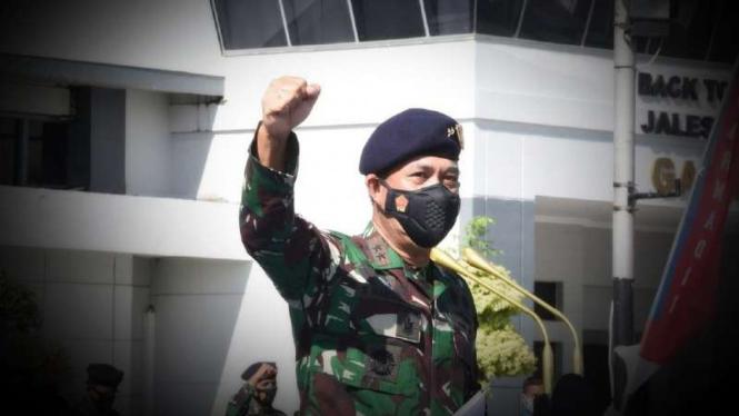 VIVA Militer: Pangkoarmada II Laksda TNI I.N.G. Sudihartawan