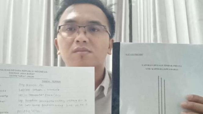 Asep Muhidin yang laporkan 4 orang anggota DPRD Garut