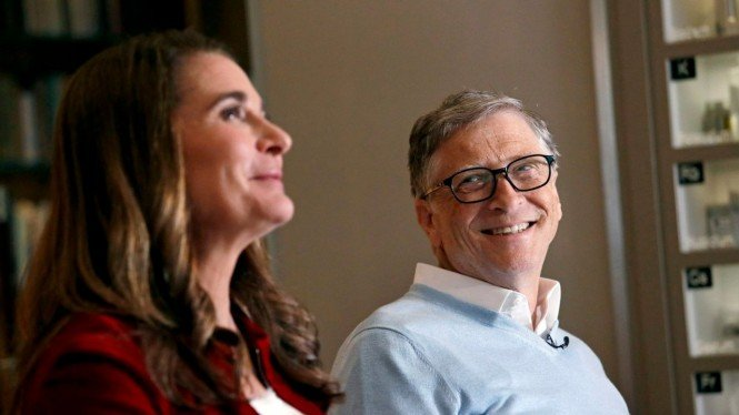 Bill Gates dan Melinda Gates.