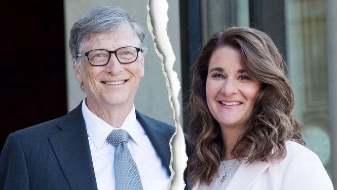 Bill Gates dan Melinda Gates resmi cerai.