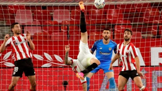 Duel Sevilla vs Athletic Bilbao