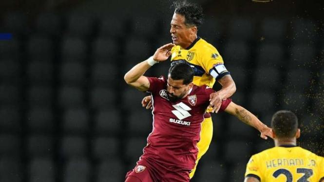 Duel Torino vs Parma.