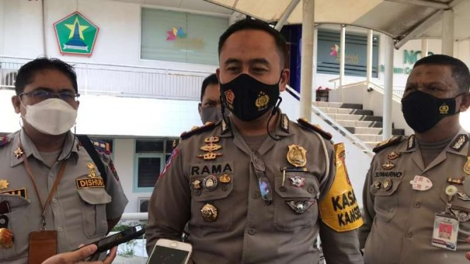 Kepala Satuan Lalu Lintas Polresta Malang Kota Kompol Ramadhan Nasution