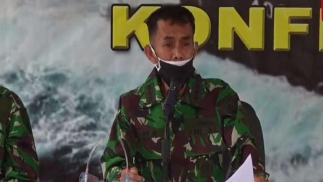 Mantan Komandan Satuan Kapal Selam Kolonel Iwa Kartiwa
