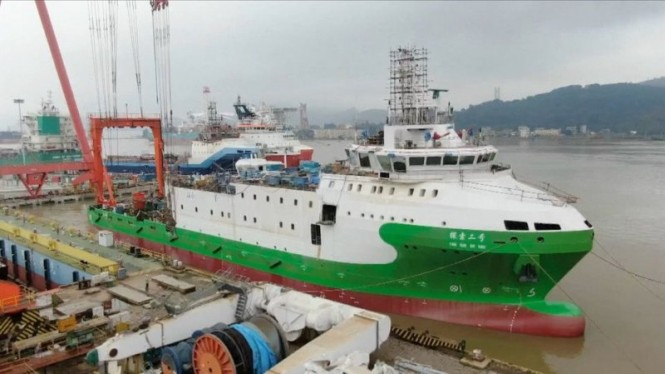 Kapal Scientific Salvage Tansuo 2 milik China