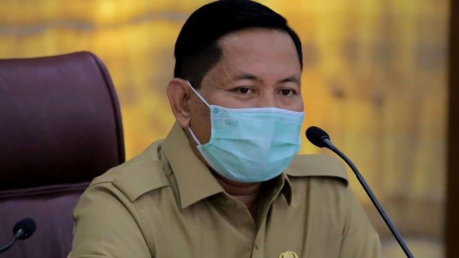 Sekretaris Daerah Kota Tangerang Herman Suwarman.