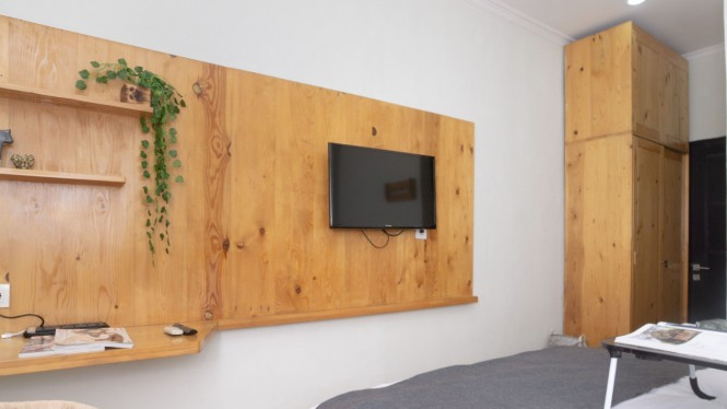 Ilustrasi kamar untuk WFH