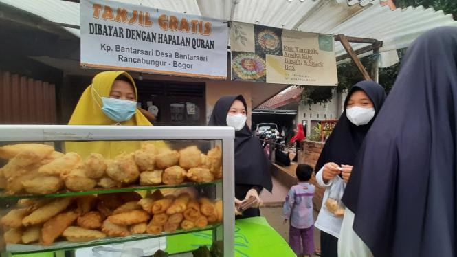 Desa Penghafal Quran di Rancabungur, Bogor.