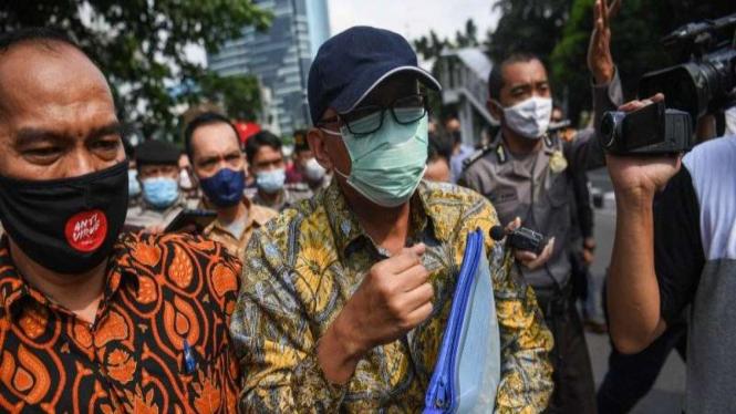 mantan Direktur Pemeriksaan dan Penagihan Ditjen Pajak Angin Prayitno Aji