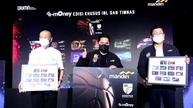 Penandatanganan MoU terkait dukungan perseroan terhadap penyelenggaraan FIBA