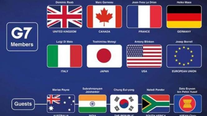 Pertemuan G-7 dan ASEAN ++++