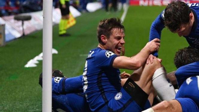 Chelsea lolos ke final Liga Champions