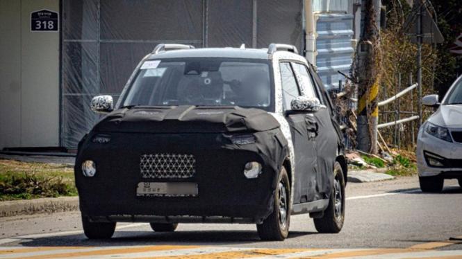 Bocoran mobil SUV Hyundai AX1