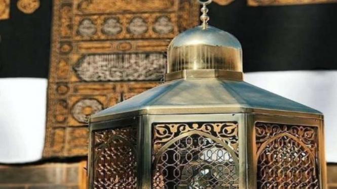 Maqam Nabi Ibrahim atau jejak kaki Nabi Ibrahim di Masjidil Haram
