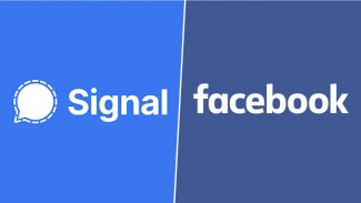 Signal vs Facebook.