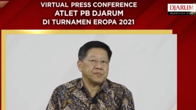 Ketua PB Djarum Yoppy Rosimin.