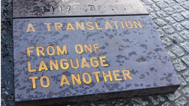 Ilustrasi bidang penerjemahan.