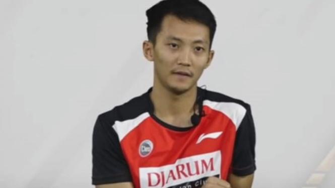 Atlet PB Djarum, Ihsan Maulana Mustofa.