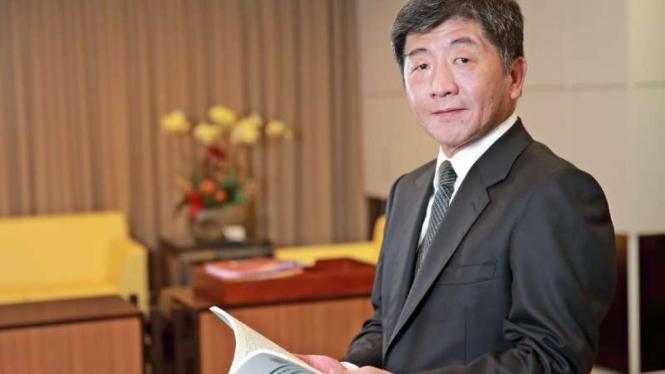 Menteri Kesehatan dan Kesejahteraan Taiwan, Shih-chung Chen