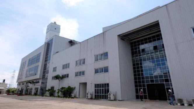Gedung pengelola sampah energi listrik (PSEL) di Kecamatan Benowo, Kota Surabaya