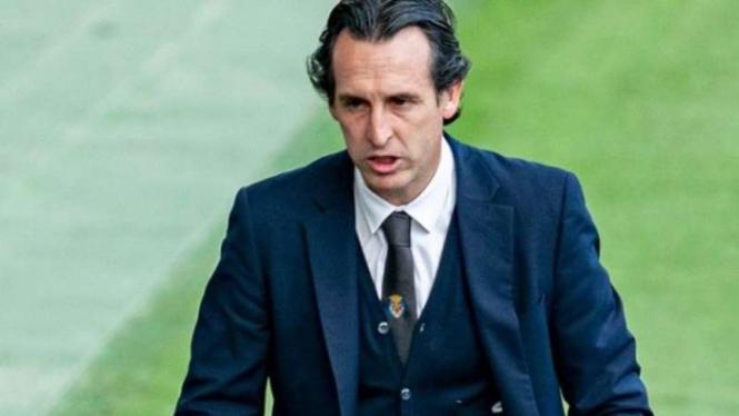 Pelatih Villarreal, Unai Emery.