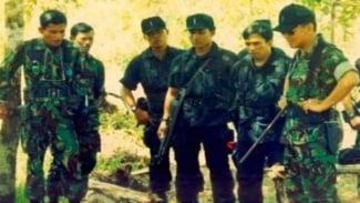 VIVA Militer: Letjen TNI (Purn.) Prabowo Subianto (paling kanan)