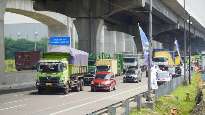 Jasa Marga catat 84 ribu kendaraan keluar Jabodetabek