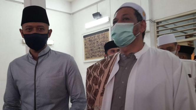 AHY bertemu dengan Habib Ali Kwitang