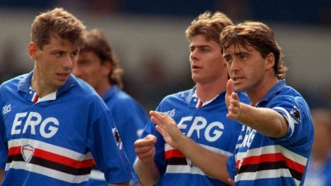 Sampdoria era 1990-an.