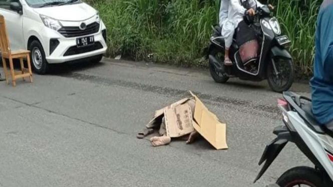 Kecelakaan di Tangerang yang menewaskan seorang kakek