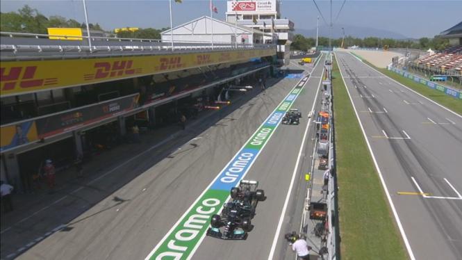 Kualifikasi F1 GP Spanyol