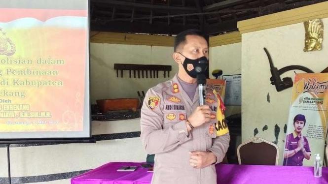 Kapolres Enrekang AKBP Andi Sinjaya Ghalib