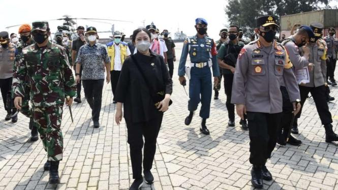 VIVA Militer: Panglima TNI hingga Ketua DPR RI kunjungi titik penyekatan Mudik