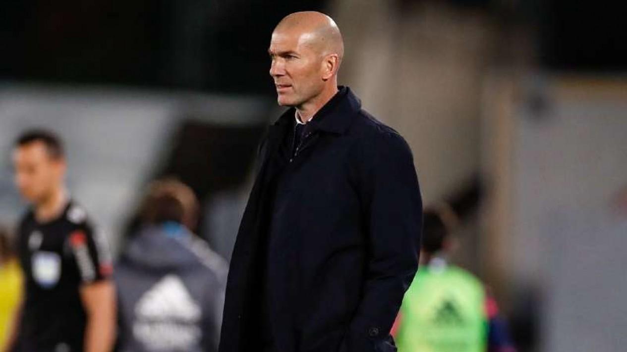 Mantan Pelatih Real Madrid, Zinedine Zidane.