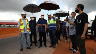 Peninjuanan pembangunan jalur kedua jalan Hang Kesturi tahap 1, kabil
