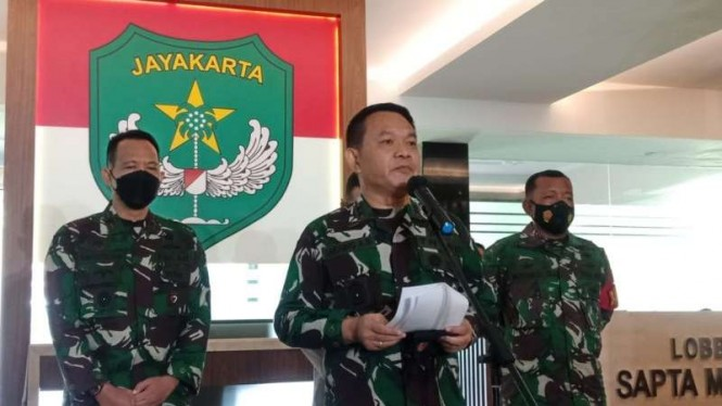 Pangdam Jaya Mayjen Dudung Abdurrachman di Makodam Jaya