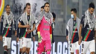 Aksi solidaritas klub Chile untuk warga Palestina