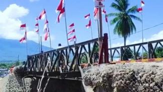 VIVA Militer: TNI AD resmikan jembatan Wira Mandala Zeni AD di Flores Timur, NTT