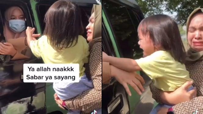 Viral Video Ini Bikin Mewek, Tangisan Si Raja di Pelukan Ibunya