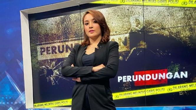 Presenter tvOne Prima Alvernia (Foto/Instagram/primaalvernia)