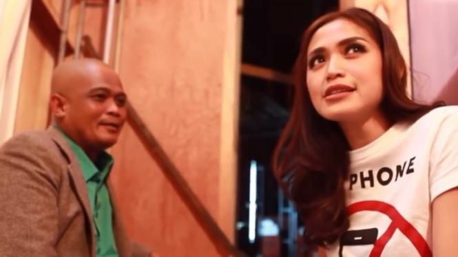Jessica Iskandar dan Bang Sapri
