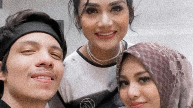 Atta Halilintar, Aurel Hermansyah dan Krisdayanti.