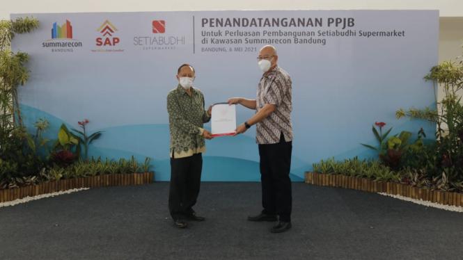 Setiabudhi Supermarket tambah luas lahan di kawasan Summarecon Bandung.