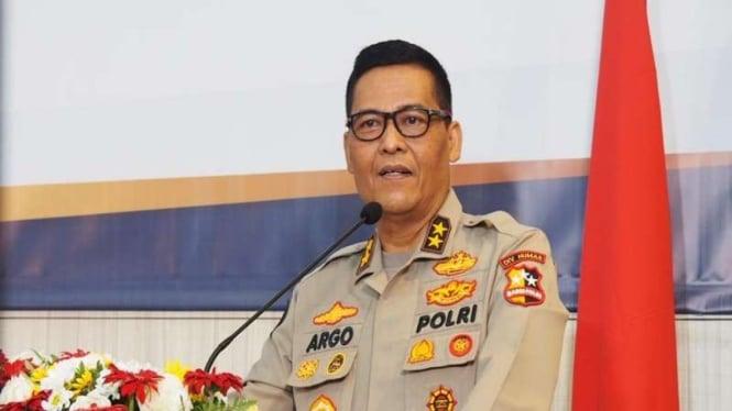 Kepala Divisi Humas Polri Irjen Raden Prabowo Argo Yuwono