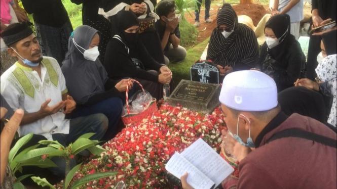 Pemakaman Bang Sapri