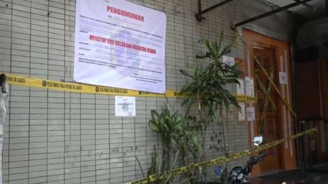 Kafe Obama ditutup permanen oleh Satpol PP DKI jakarta