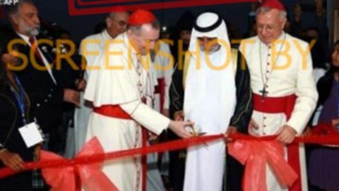Beredar postingan peresmian Gereja di Arab Saudi.