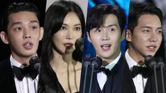 Para pemenang Baeksang Arts Awards ke-57.