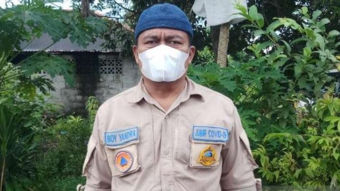 Juru Bicara Satgas COVID-19 Kabupaten Bangka, Boy Yandra di Sungailiat