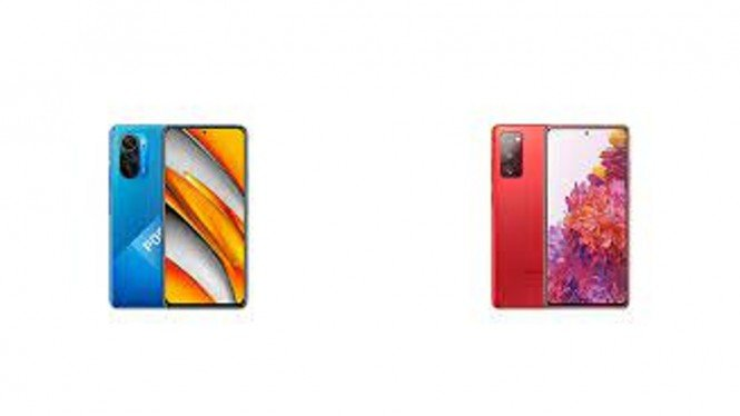 Poco F3 vs Samsung Galaxy S20 FE.